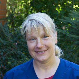 Silke Bucholz, Tiermedizinische Fachangestellte